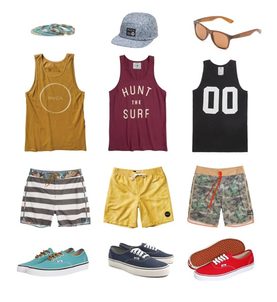 Men's RVCA Tanks